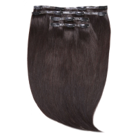 "Beauty Works Jen Atkin Invisi-Clip-In Hair Extensions 18"" - Ebony Black 1B"