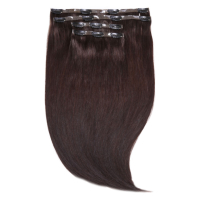 "Extensiones de Pelo Invisi-Clip-In 18"" Jen Atkin de Beauty Works - Cuervo 2"