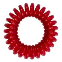 Élastique à cheveux MiTi Professional - rouge rubis (3 p.)