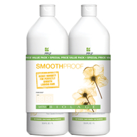 Matrix Biolage Smoothproof Shampoo and Conditioner 1L Duo