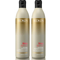 Lote de champú y acondicionador Frizz Dismiss de Redken  500 ml