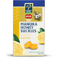 Manuka Honey Suckles with Lemon MGO 400+ - 100g