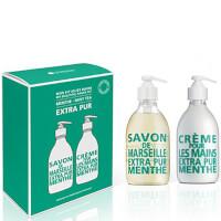 Compagnie de Provence My Beautiful Hand Kit: Mint Tea Liquid Soap and Hand Cream 300ml