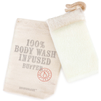 Spongellé Spongology Body Wash Infused Body Buffer - Milk & Honey