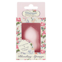 The Vintage Cosmetics Company Gourd Blending Sponge Infused with Collagen - Pink