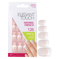 Elegant Touch Natural French Nails - 126 (S) (Pink)