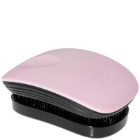 ikoo Pocket Hair Brush - Black - Cotton Candy
