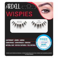 Ardell Wispies Cluster False Eyelashes - 600 Black