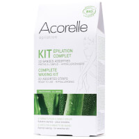 Acorelle Ready to Use Strips Complete Waxing Kit