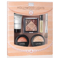 Laura Geller Hollywood Lights 6 Piece Beauty Collection - Fair (Worth £91)
