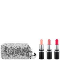 MAC Snow Ball Mini Lipstick Kit - Pink