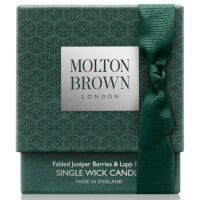 Molton Brown Fabled Juniper Berries and Lapp Pine Single Wick Candle