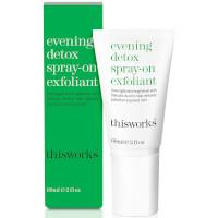 this works Evening Detox Spray-On Exfoliant 60ml