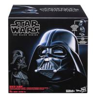 Deals on Hasbro Black Star Wars Darth Vader Electronic Replica Helmet