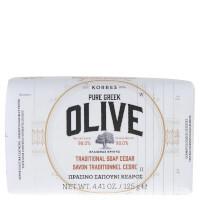 KORRES OLIVE Cedar Soap 125g