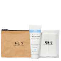 REN Cleanse and Reveal Hot Cloth Cleanser Kit