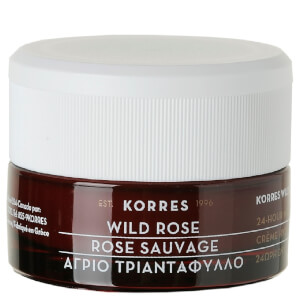 KORRES Wild Rose 24-Hour Moisturiser For Normal & Dry Skin (40 ㎖)