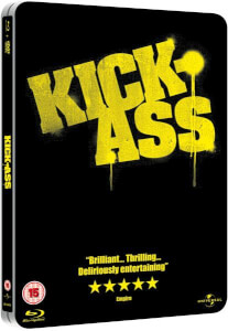 Kick-Ass Limited Edition Steelbook (Blu-ray and DVD)