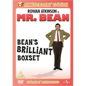 Mr. Bean: Series 1, Volumes 1-4 - 20th Anniversary Editie