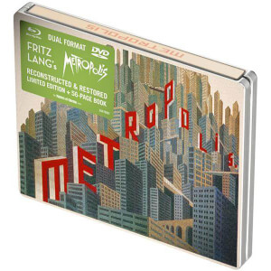Metropolis: Limited Edition Steelbook Dual Format (DVD and Blu-Ray)
