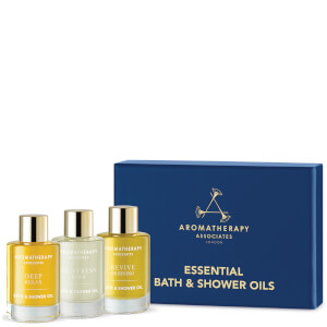 Aromatherapy Associates Essentials Relax, De-stress & Revive Badeöle 3x9ml