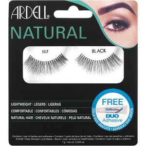 Ardell Natural ciglia finte 117 Black