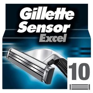 Gillette Sensor Excel Razor Blades (10 Pack)