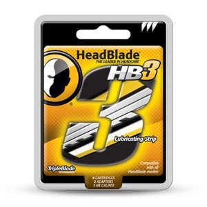 Headblade Replacement Tripleblade Kit (4 Pack)