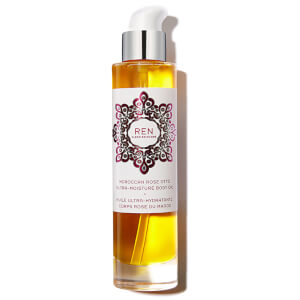REN Clean Skincare Moroccan Rose Otto Ultra-Moisture Body Oil 100ml