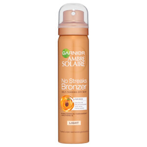Garnier Ambre Solaire No Streaks Bronzer Face Mist Light 75ml