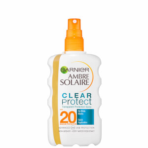 Protector solar en sprayClear Spray SPF20 de Garnier Ambre Solaire (200 ml)