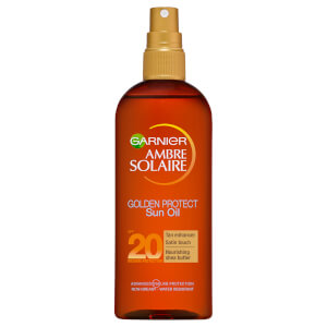 Ambre Solaire Golden Protect Shea Butter Tan Enhancing Sun Oil SPF20 150ml