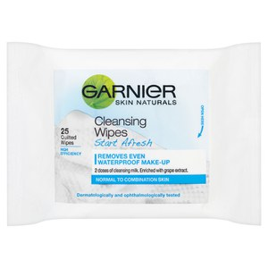 Garnier Skin Start Afresh Cleansing Wipes (25 片)