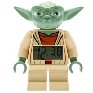 LEGO® Star Wars™ Yoda Minifiguren-Uhr mit Wecker