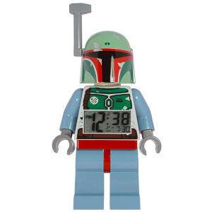 LEGO Star Wars: Boba Fett Minifigure Clock
