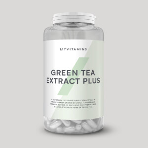 Tabletas de Extracto de Té Verde Plus