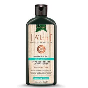 A'kin unparfümiertes, sehr sanftes Shampoo 225ml