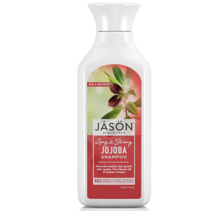 JASON Long & Strong Jojoba Shampoo - shampoo rinforzante per capelli indeboliti 473 ml