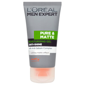 Gel hidratante antibrillo de L'Oréal Men Expert Pure & Matte  (50 ml)