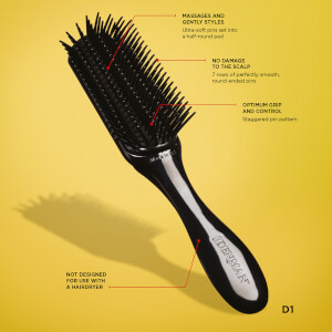 Denman D1 Small Gentle Styling Brush: Image 2