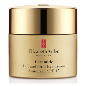 Creme de Olhos Elizabeth Arden Ceramide Plump Perfect Ultra Lift & Firm SPF 15 (15 ml)