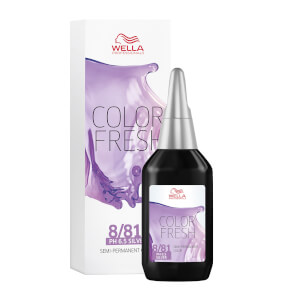 Coloration semi-permanente WELLA COLOR FRESH SILVER LIGHT PEARL ASH BLONDE 8.81 (75ML)