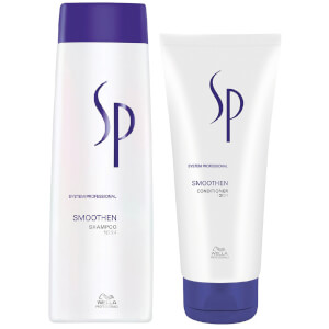 Wella Professionals Care SP Smoothen Shampoo and Conditioner Set