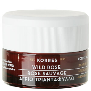 KORRES Natural Wild Rose Brightening Day Cream for Oily/Combination Skin 40ml