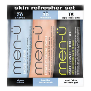 men-u skin refresher set 3 x 0.5 oz.