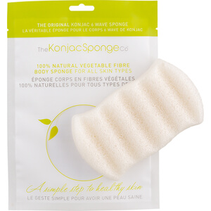 Konjac 6 Wave Body Sponge Pure Konjac