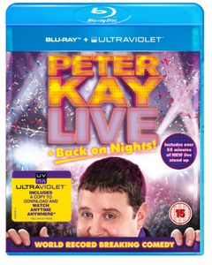 Peter Kay: Live and Back on Nights (Includes UltraViolet Copy)