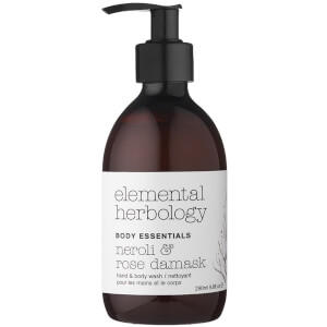 Elemental Herbology Neroli and Rose Damask Body Wash