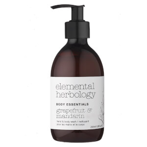 Elemental Herbology Grapefruit and Mandarin Body Wash