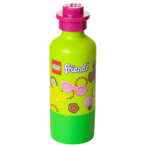 Lego Drink Bottle Friends Green
